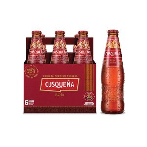 Roja Botella (310ml) Pack x 6