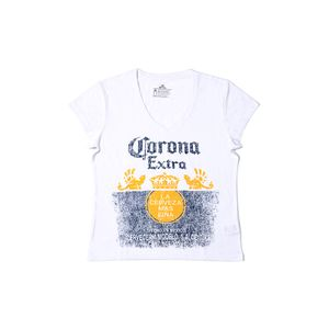 Polo Corona Mujer Blanco – Talla S