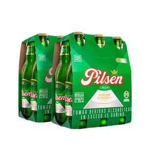 2 Sixpacks Pilsen Callao Botella (305ml)