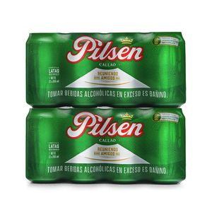 2 Twelvepacks Pilsen Callao Lata (355ml)