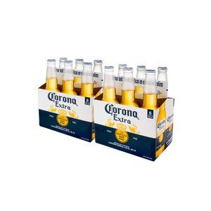 2 Sixpacks Corona Botella (355ml)