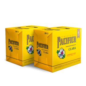 2 Sixpacks Pacifico Lata (355ml)