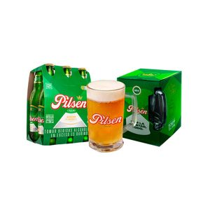 Combo Pilsen Callao Botella (305ml) Pack x 6 + Chopp Pilsen Callao