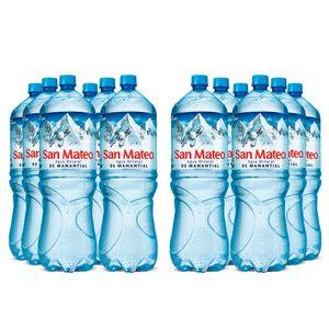 2 Sixpacks San Mateo Sin Gas (2500ml)