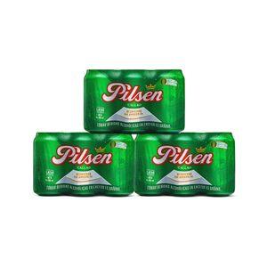 3 Sixpacks Pilsen Callao Lata (355ml)