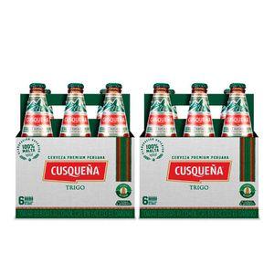Combo 2 Cusqueña Trigo Botella (310ml) Pack x 6
