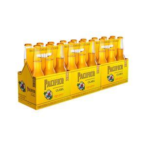 3 Sixpacks Pacifico Botella (300ml)