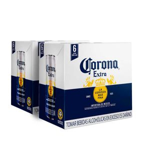 2 Sixpacks Corona Lata (355ml)