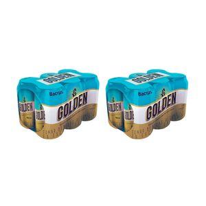 2 Twelvepacks Golden Lata (355ml)