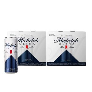 2 Sixpacks Michelob Ultra Lata (355ml)