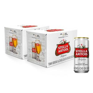 2 Sixpacks Stella Artois Lata (269ml)