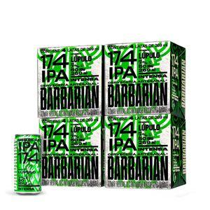 4 Fourpacks Barbarian 174 IPA Lata (269ml)