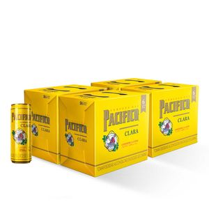 4 Sixpacks Pacifico Lata (355ml)